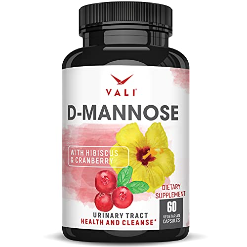 D Mannose 1000 mg Urinary Tract Health Formula - Triple Strength Organic...