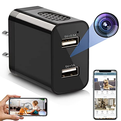 Spy Camera Wireless Hidden WiFi Charger Camera with Remote View - 1080P HD...