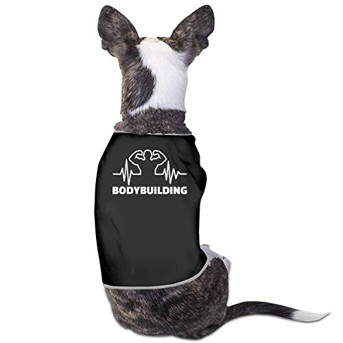 COLLJL8 Bodybuilding Heartbeat Pet Dog Clothing Costume Puppy Dog Clothes...