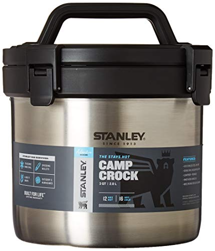 Stanley Adventure Stay Hot 3QT Camp Crock - Vacuum Insulated Stainless...