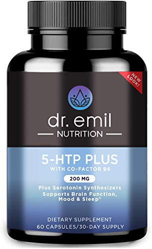 Dr. Emil Nutrition 200 MG 5-HTP Plus Serotonin Synthesizers and Cofactor B6...