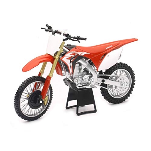 Orange Cycle Parts Die-Cast Replica Toy Red 1:12 Scale Model Honda CRF 450R...