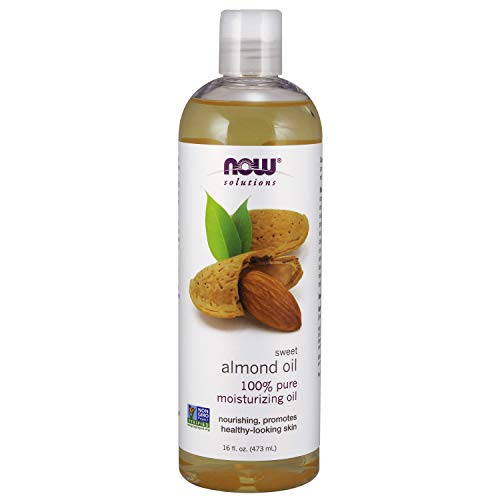 NOW Solutions, Sweet Almond Oil, 100% Pure Moisturizing Oil, Promotes...