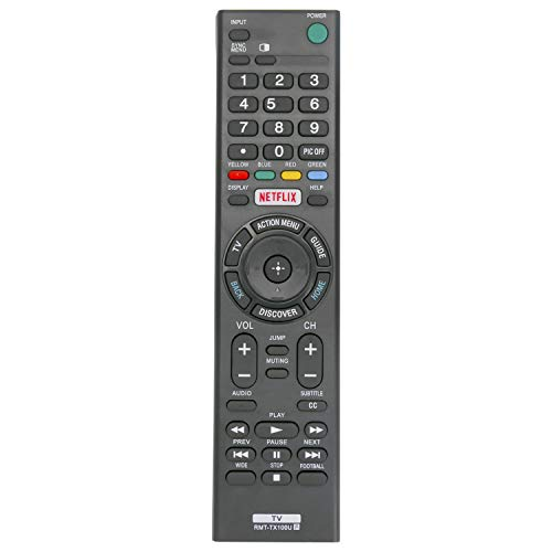 New RMT-TX100U Remote Control fit for Sony Bravia TV XBR-65X850C...