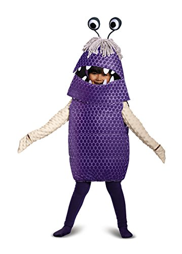 Boo Deluxe Toddler Costume, Purple, Large (4-6)