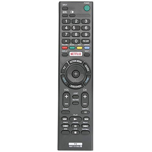 PERFASCIN RMT-TX100U Replace Remote compatible with Sony KDL-75W850C...