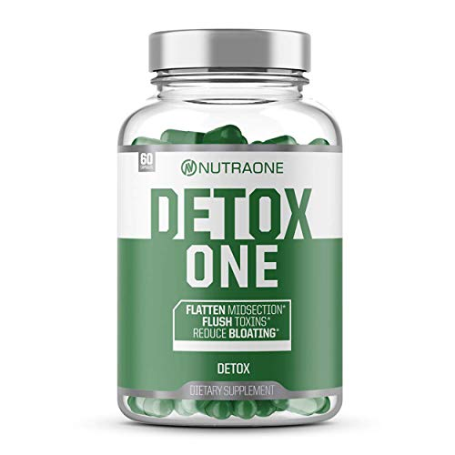 DetoxOne Colon Cleanser & Detox for Weight Loss by NutraOne  ...