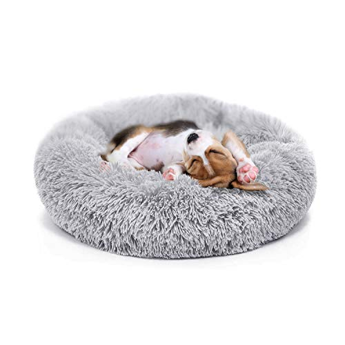 nononfish Puppy Bed for Small Medium Dog Soothing Dog Bed Calming,...