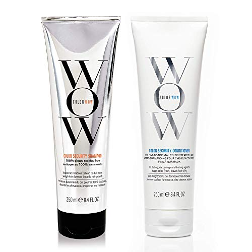 COLOR WOW Color Security Shampoo and Conditioner, Fine to Normal Hair, Duo...