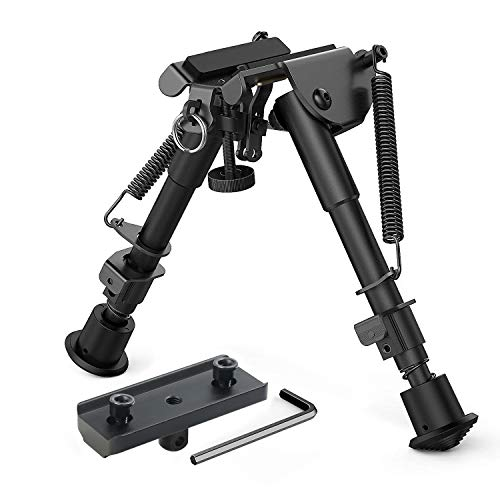 XAegis 2 in 1 Bipod 6 Inch to 9 Inch Adjustable Height Rail Mount Adapter...