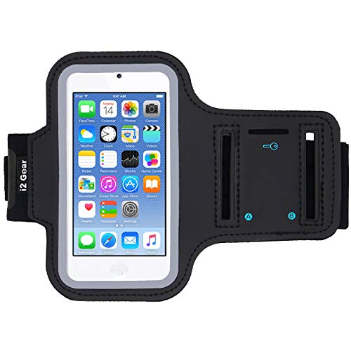 i2 Gear Running Exercise Armband for iPod Touch 7th, 6th and 5th Generation...