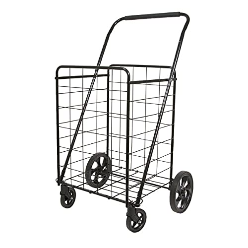 Helping Hand FQ39720 Super Deluxe Swiveler Utility Folding Cart with Height...