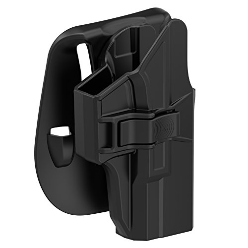 Paddle Holster Compatible with Glock 19 19X 23 32 44 45 (Gen 1-5), Tactical...