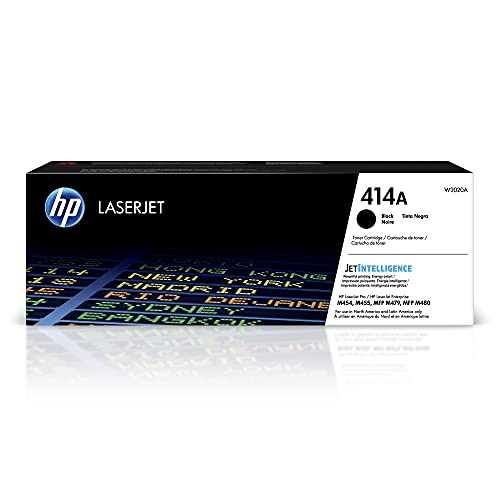 HP 414A | W2020A | Toner-Cartridge | Black | Works with HP Color LaserJet...