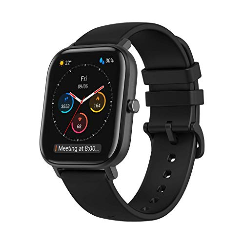 Amazfit GTS Fitness Smartwatch with Heart Rate Monitor, 14-Day Battery...