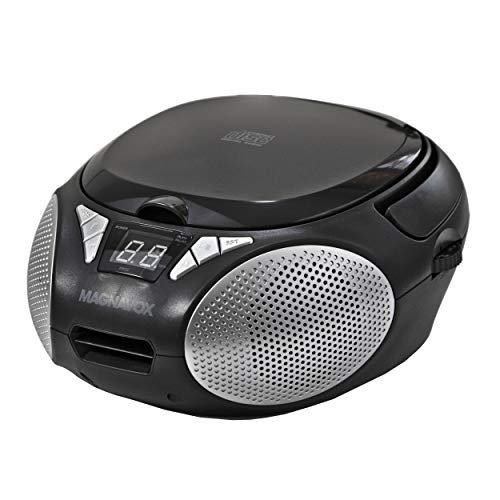 Magnavox MD6924 Portable Top Loading CD Boombox with AM/FM Stereo Radio in...