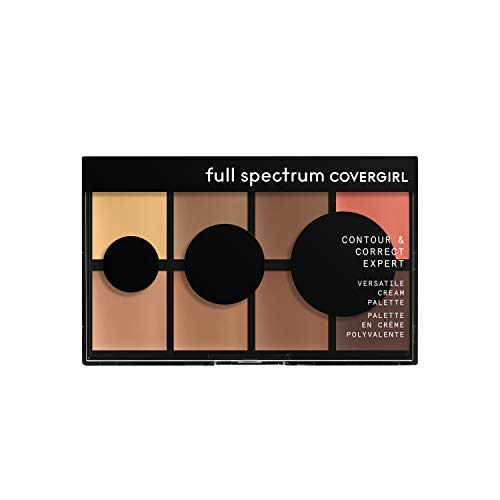 COVERGIRL Contour and Correct Expert, Cream Palette Universal, 0.26 Ounce