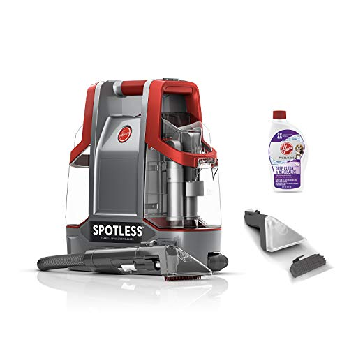 Hoover Spotless Portable Carpet & Upholstery Spot Cleaner, FH11300PC, Red...