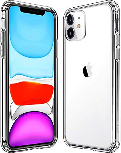 Mkeke Compatible with iPhone 11 Case, Clear Shock Absorption Cases for 6.1...
