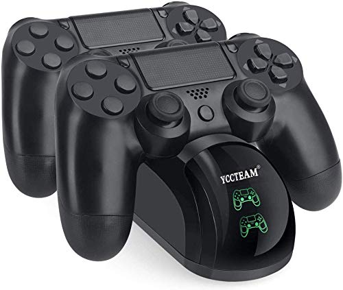 YAEYE PS4 Controller Charger, Upgraded Fast-Charging Port Docking Station...
