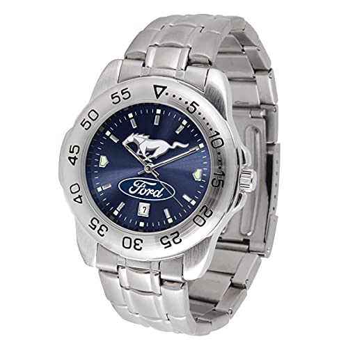 Ford Mustang Watch - Pony Sport Steel Series by Game Time - Men's
