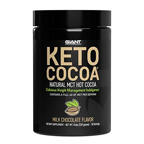 Keto Cocoa - Delicious Sugar Free Hot Chocolate Mix with 6g of MCTs for The...