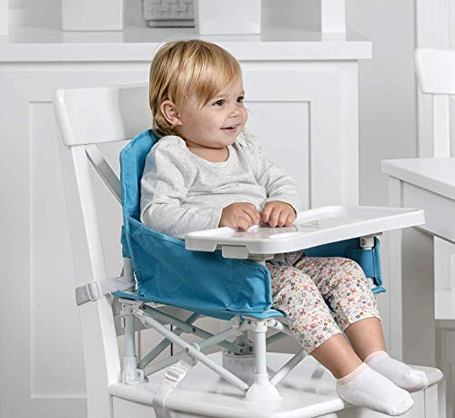 Regalo My Chair 2-in-1 Portable Travel Booster Seat & Activity Chair, Bonus...