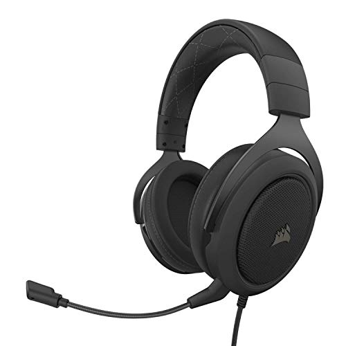 Corsair HS60 PRO - 7.1 Virtual Surround Sound Gaming Headset with USB DAC -...