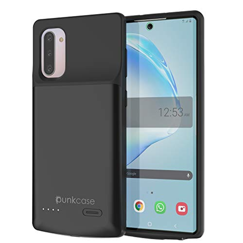 PunkJuice Galaxy Note 10 Battery Case, 5200mAh Fast Charging Extended Power...