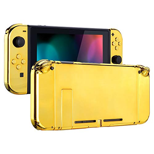 eXtremeRate Back Plate for Nintendo Switch Console, NS Joycon Handheld...