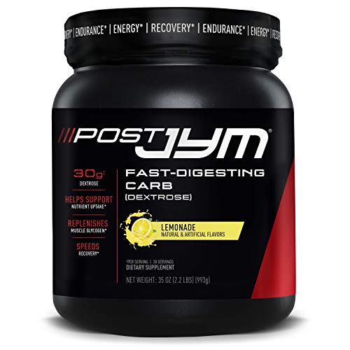 JYM Supplement Science Post JYM Fast-Digesting Carb - Post-Workout Recovery...
