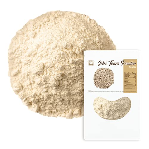 Roasted Job's Tears Powder (10oz) / Low-cal Meal replacement / Nutty...