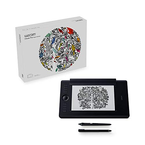 Wacom PTH660P Intuos Pro Paper Edition Digital Graphic Drawing Tablet for...