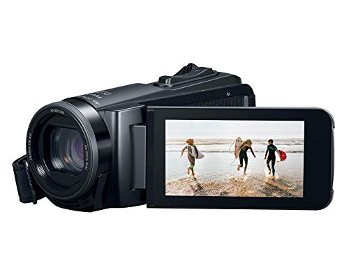 Canon VIXIA HF W10 Video Camera Camcorder with Built-in Memory (8GB),...