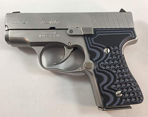 Revision CV Kahr Arms MK9, G10 Grips, Black and Gray