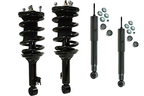 DTA 70188 - Full Set 2 Front Complete Strut Assemblies With Springs and...