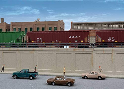 Walthers Cornerstone N Scale Building/Structure Kit Urban Retaining Walls