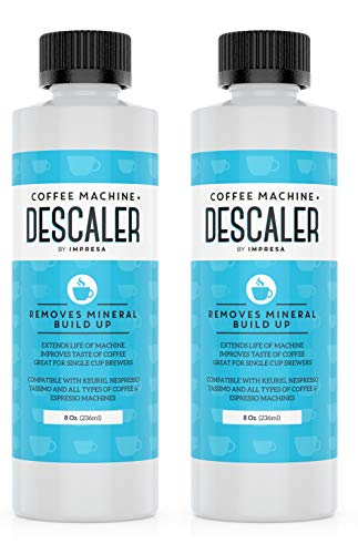 Descaler (2 Pack, 2 Uses Per Bottle) - Made in the USA - Universal...