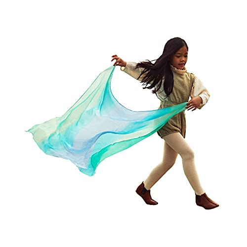 Sarah's Silks Enchanted Playsilk, 100% Silk Scarves for Kids and Toddlers,...