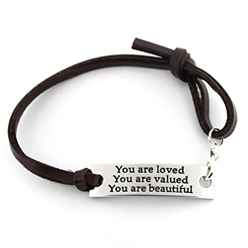 Inspirational Gifts for Women Saying Stamped You are Loved You are Valued...