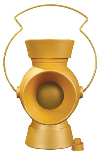 DC Collectibles Yellow Lantern Power Battery & Ring Prop Replica, 1: Scale,...