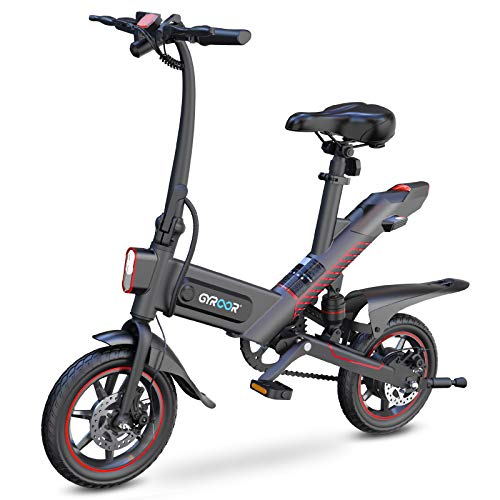 Gyroor C3 Electric Bike for Adults, 450W eBike with 18.6MPH up to 28...