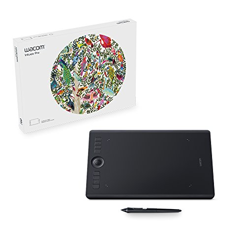 Wacom PTH660 Intuos Pro Digital Graphic Drawing Tablet for Mac or PC,...