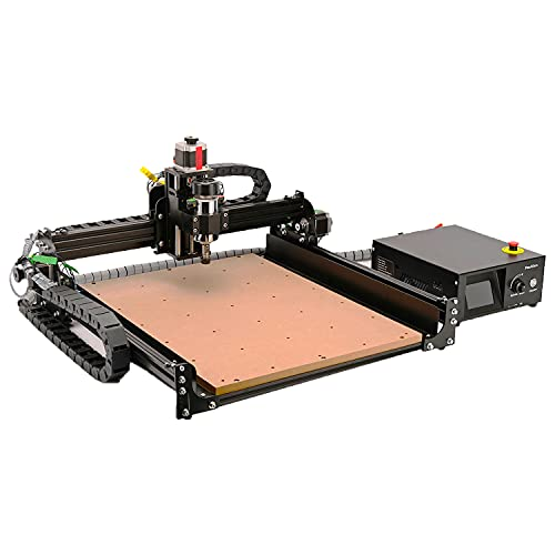 CNC Router Machine 4040-XE, 300W Spindle 3-Axis Engraving Milling Machine...