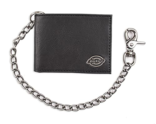 Dickies Men's Bifold Chain, Classic Black, One Size