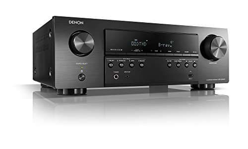 Denon AVR-S540BT Receiver, 5.2 channel, 4K Ultra HD Audio and Video, Home...