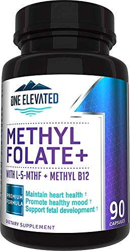 Double Strength & Most Bioactive Methyl Folate! Uniquely Formulated with...