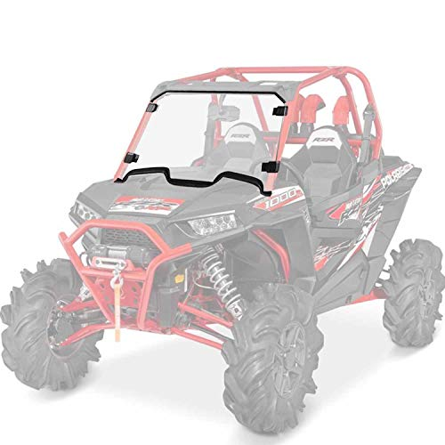 Clear Full Windshield Compatible with Polaris RZR XP 1000/4 1000, RZR XP...
