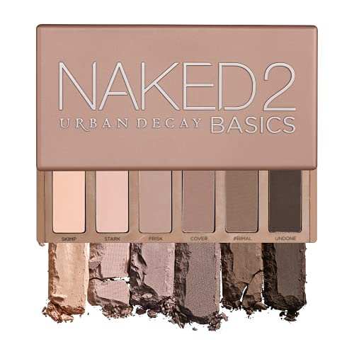 Urban Decay Naked2 Basics Eyeshadow Palette, 6 Taupe & Brown Matte Neutral...