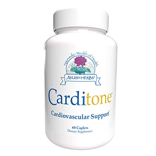 Ayush Herbs Carditone, Unbeatable Blood Pressure and Cardiovascular Support...